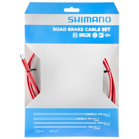 Shimano Road Kit cavo freno SIL-TEC rivestito, red